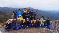 登頂記念写真(2班)